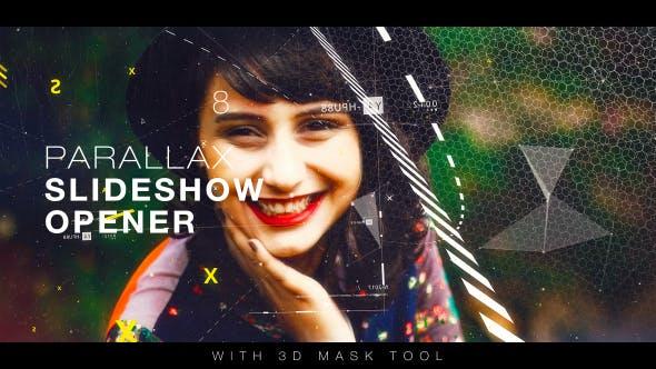 Videohive Parallax Slideshow Opener 19117776