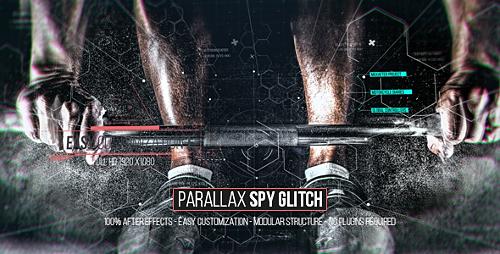 Videohive Parallax Spy Glitch 18332998