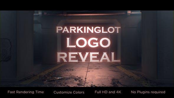 Videohive Parking-lot Logo Reveal 26875861