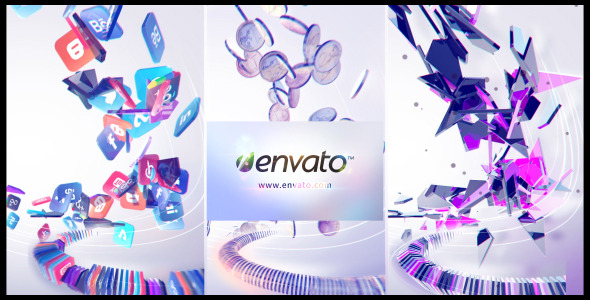 Videohive Particle Attack Logo Reveal 6395022