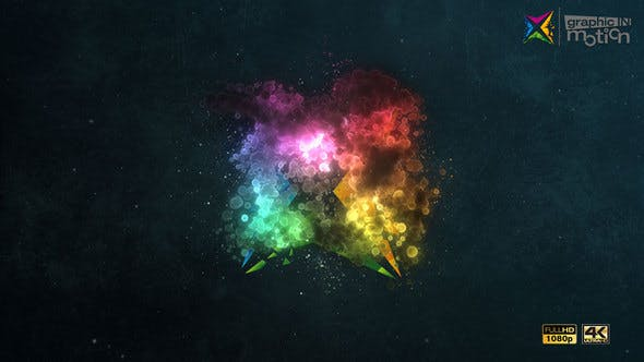 Videohive Particle Cloud Logo Reveal 23315127