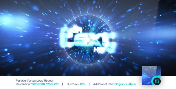 Videohive Particle Vortex Logo Reveal 6885256