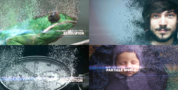 Videohive Particle World Slideshow 16225187