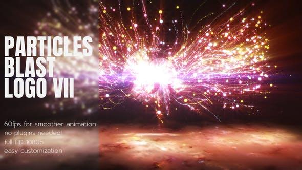 Videohive Particles Blast Logo 2 26882523