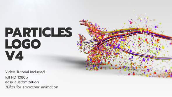 Videohive Particles Logo V4 28290435
