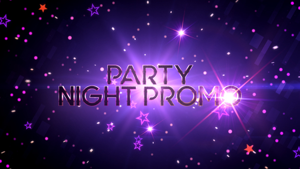 Videohive Party Night Promo 19808709