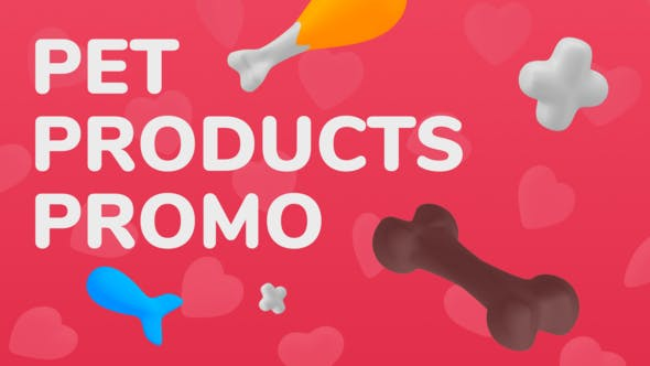 Videohive Pet Products Promo 27680277