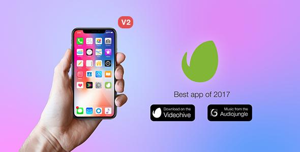 Videohive Phone X App Promo Kit 20716659