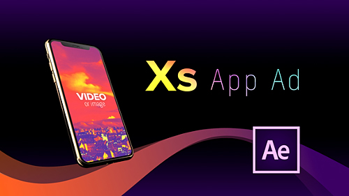 Videohive Phone Xs App Ad 22812774