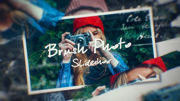 Videohive Photo Brush Slideshow 20373472