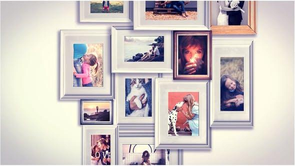 Videohive Photo Frames Opener 26991206