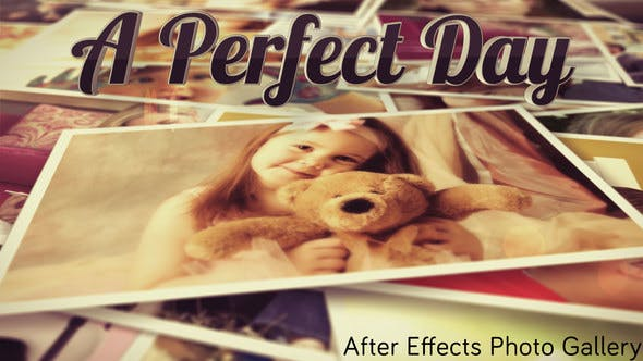 Videohive Photo Gallery A Perfect Day 7812358