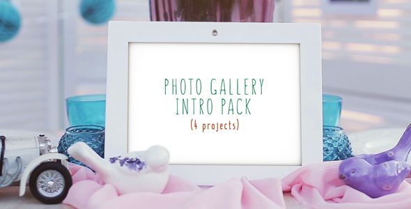 Videohive Photo Gallery Intro Pack 17075690