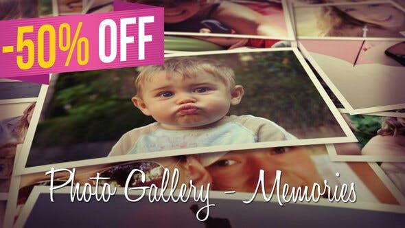 Videohive Photo Gallery - Memories 8693944