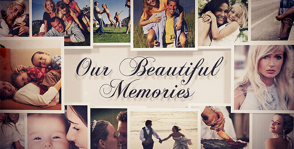 Videohive Photo Gallery - Our Beautiful Memories 18192853