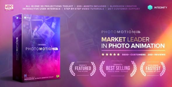 Videohive Photo Motion Pro - Professional 3D Photo Animator 13922688