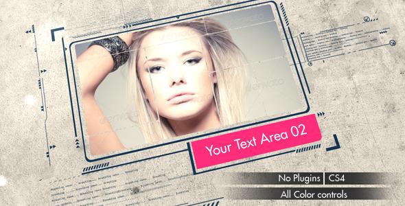 Videohive Photo and Typo Slideshow 4972293
