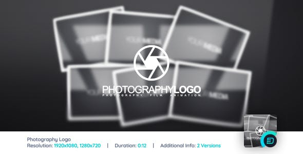 Videohive Photography Logo Reveal 3037074