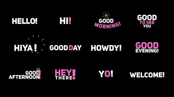 Videohive Phrase Kinetic Typography Hi 20536289