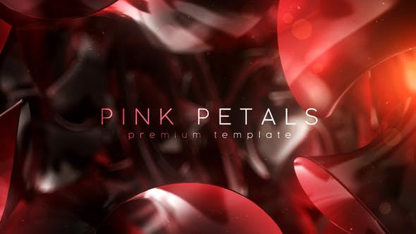 Videohive Pink Petals 27045313
