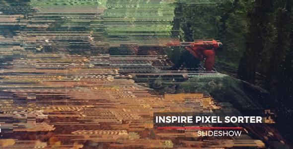 Videohive Pixel Sorter Slideshow 19650610