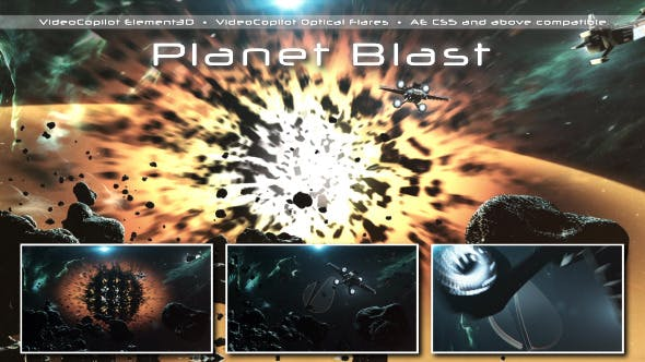 Videohive Planet Blast 6808513