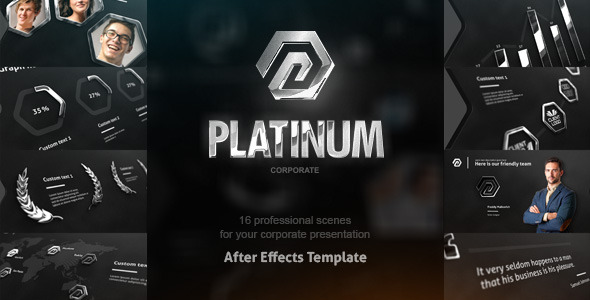 Videohive Platinum Corporate Package 8209985