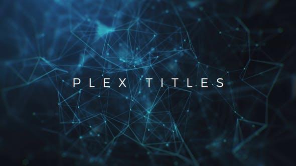 Videohive Plex Titles 22342946