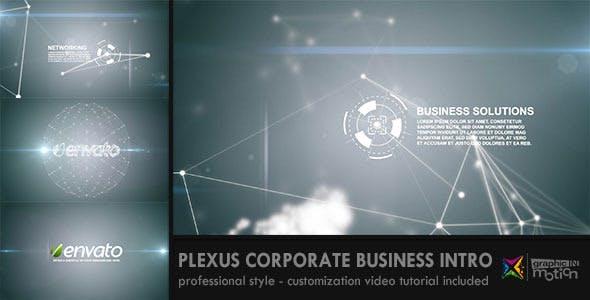 Videohive Plexus Corporate Business Intro 1380679