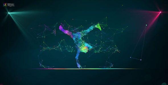 Videohive Plexus Dance Intro 18331661