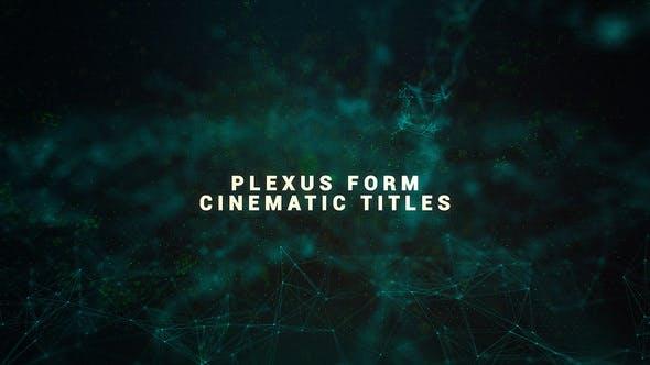 Videohive Plexus Form Cinematic Titles 22511287