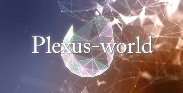 Videohive Plexus World 14983853