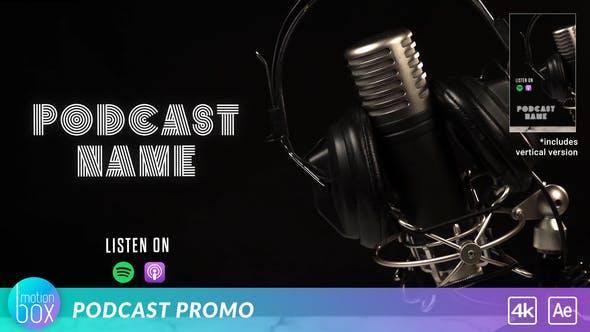 Videohive Podcast Promo Opener Intro 26933335