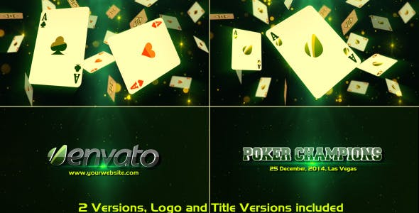 Videohive Poker Champions 6683707