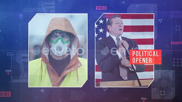 Videohive Political News Opener 26991797