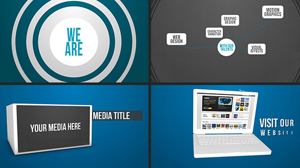 Videohive Portfolio Company Motion Promo