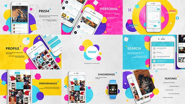 Videohive Prism App Promo 19913859