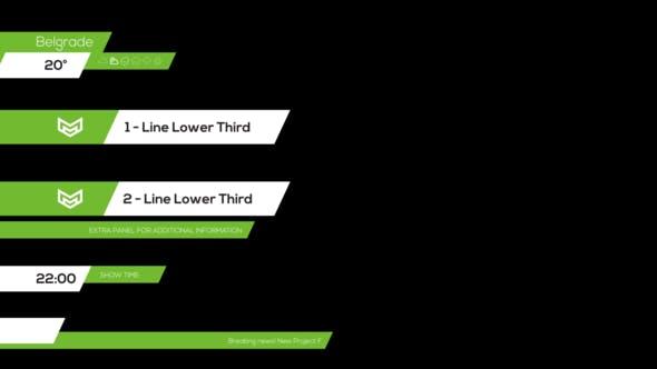 Videohive Pro Lower Third 2 3795267