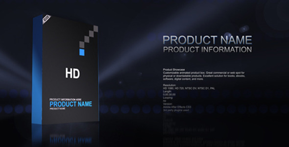 Videohive Products Showcase Templates Pack 31843