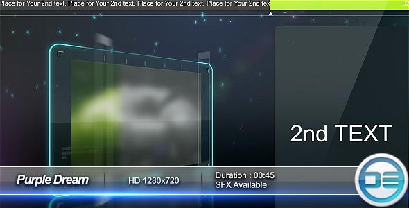 Videohive Purple Dream 47521
