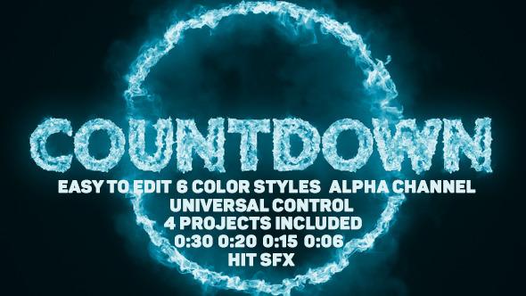 Videohive Pyro Countdown 13019306