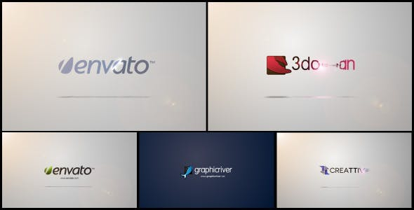 Videohive Quick Clean Logo Sting 4692344
