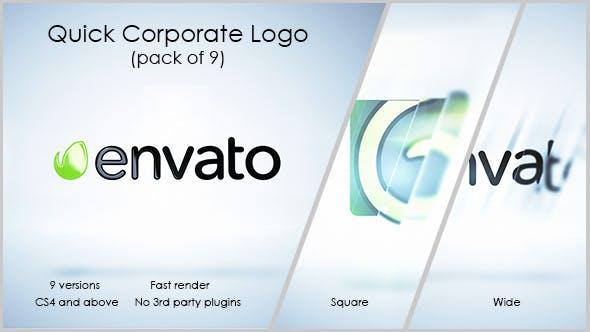 Videohive Quick Corporate Logo 13421156