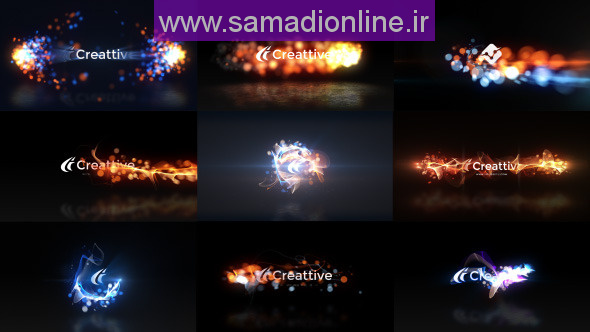 Videohive Quick Logo Sting Pack 07 Energetic Particles 10523821