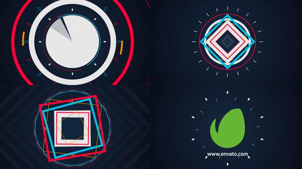 Videohive Quick Shape Logo 9164554