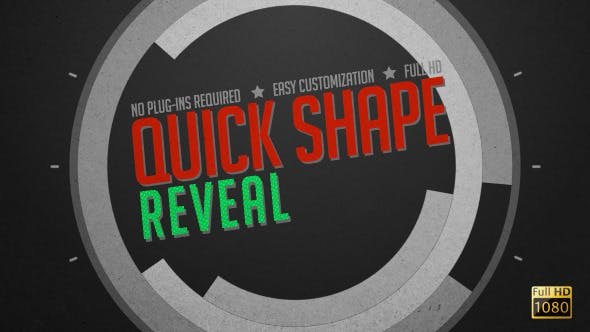 Videohive Quick Shape Reveal 5577421