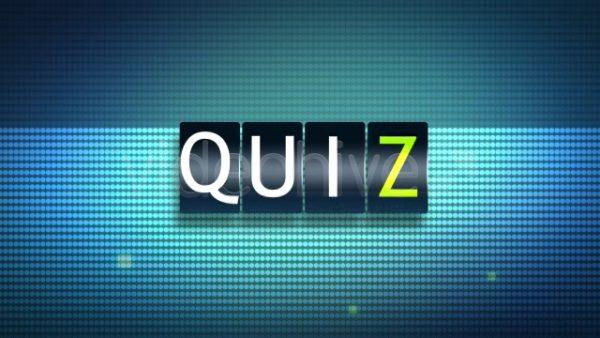 Videohive Quiz