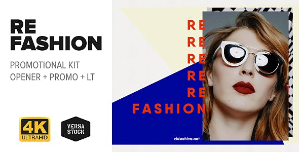 Videohive RE Fashion Promo Kit 19862535