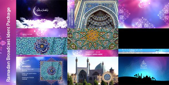 Videohive Ramadan Broadcast Ident Package 8132579