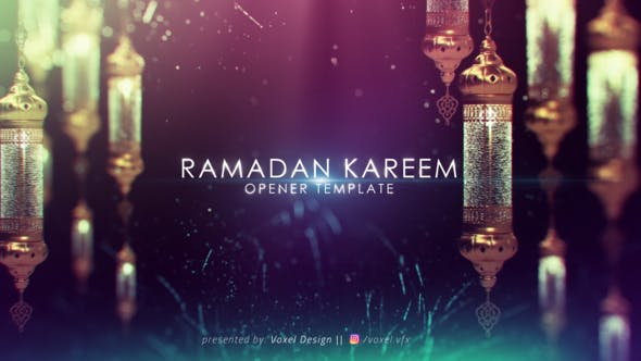 Videohive Ramadan Kareem Title 21973950